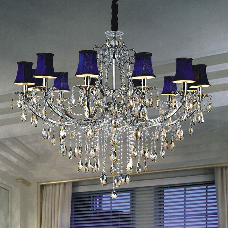 Chandelier With Shades And Crystals Chandeliers Design – Crystal Chandelier with Shade